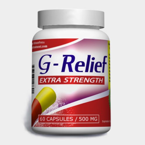 Extra Strength G-Relief (60 Veggie Caps) FDA-CERTIFIED