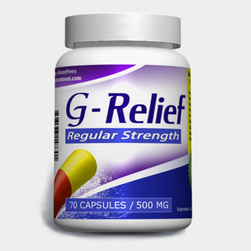 Regular Strength G-Relief (70 Caps) FDA-CERTIFIED