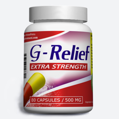 Extra Strength G-Relief (80, 120, 150, 180 Veggie Caps) FDA-CERTIFIED
