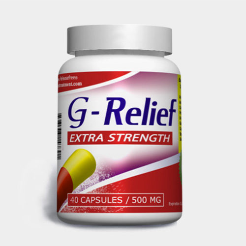 Extra Strength G-Relief (40 Veggie Caps) FDA-CERTIFIED