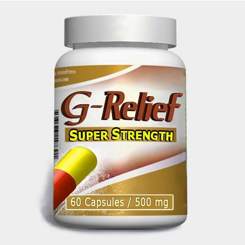 "Ganglion cyst treat ""G-Relief Super Strength Caps Removes ganglion"