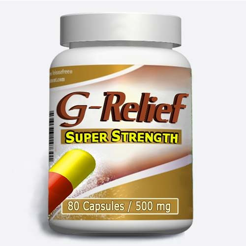 Ganglion Cyst Removal G-Relief SUPER STRENGTH (80 Caps)