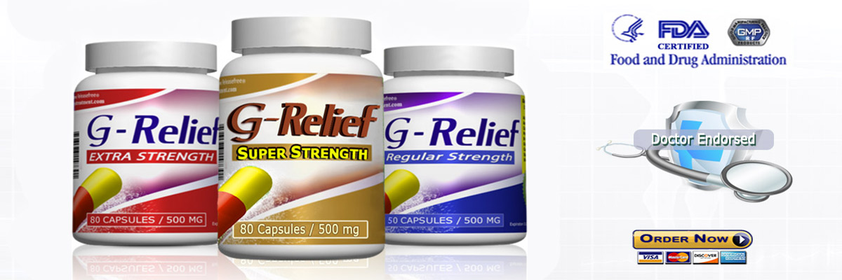 Ganglion SURGERY Alternative G-Relief Caps Info g-relief.com