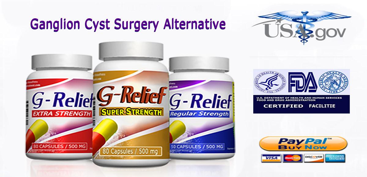 Ganglion-SURGERY-Alternative-G-Relief-Caps INFO: g-relief.com